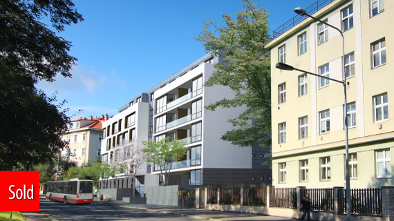 Residence Jezerka - new apartments for sale Prague 4