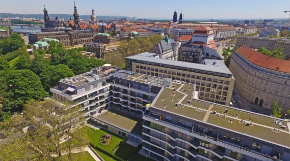 New apartments for rent in the center of Dresden - Residenz am Zwinger