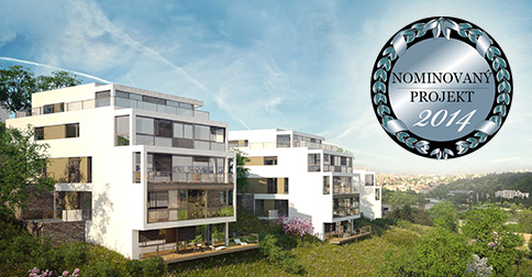 Real estate project of the year 2014 - nomination - project Rezidence Výhledová