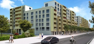 New apartments for sale in Dresden - Project Boulevard am Wall I