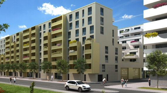 New apartments for sale in Dresden - Project Boulevard am Wall II